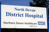Northern Devon district hospital