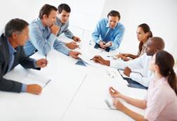 private sector board meeting