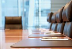 empty board room meeting