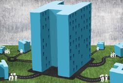 Illustration about hospital futures