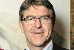 Mike Adamson chief executive of British Red Cross