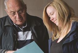caseworker social care helping elderly