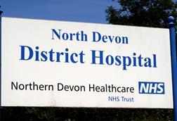 Northern Devon district hospital