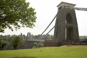 Clifton bridge Bristol