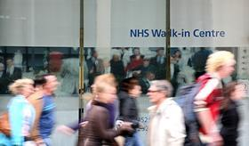NHS walk in centre