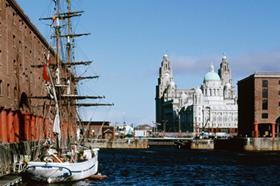 Liverpool Merseyside waterfront