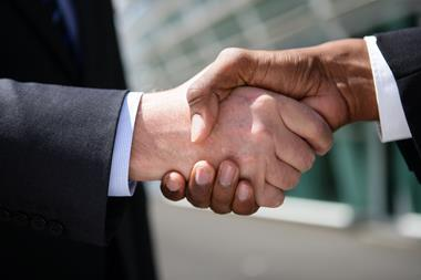 Handshake merger