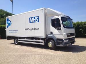 Nhs supply chain van