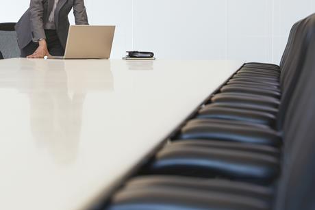 board room laptop