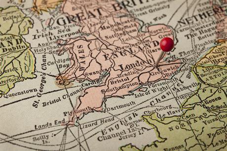 England uk britain map