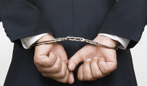 arrested, crime, punishement, penalised
