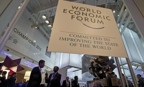 Delegates at the World Economic Forum's 'Annual Meeting