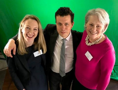 Laura Rogers, Alistair Hewison and Yvonne Sawbridge