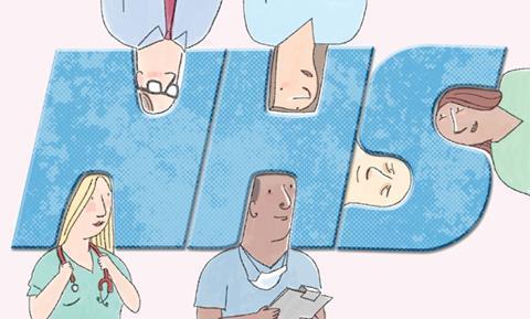 Illustration showing NHS integration