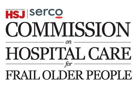 Commission on hospital care for frail older people