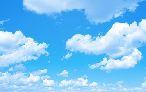 Hd blue sky wallpaper