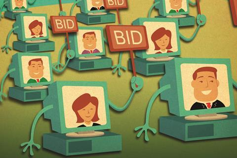 online auction procurement