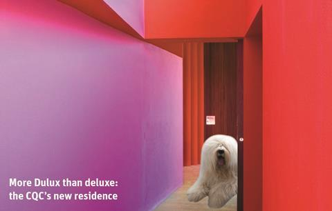 More Dulux than deluxe: the CQC's new residence