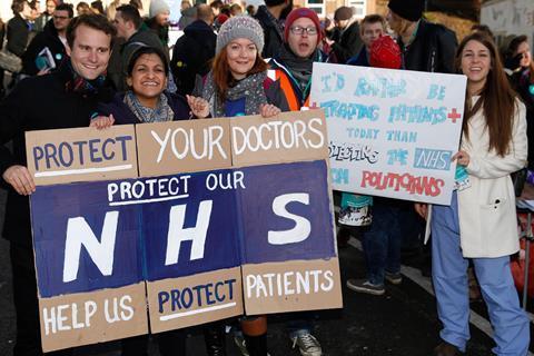 Doctors strike