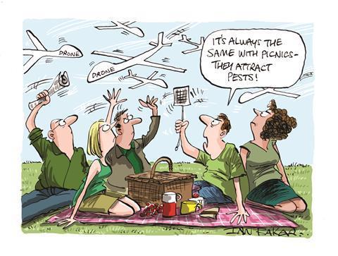 The whistleblowers' picnic cartoon