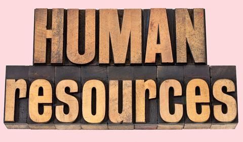 Woodblock spelling: Human resources