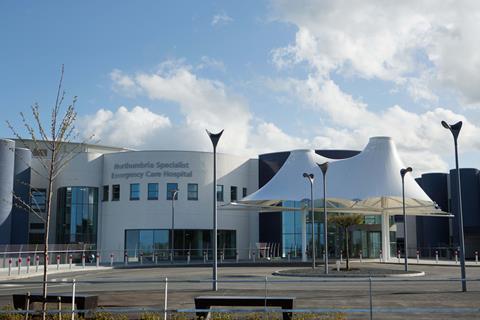 The new Northumbria hospital