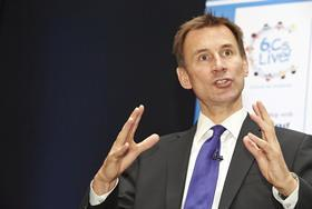 Jeremy Hunt: ICSs could 'deprioritise care quality' without checks